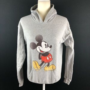Disney Mickey Mouse Distressed Pullover Hoodie